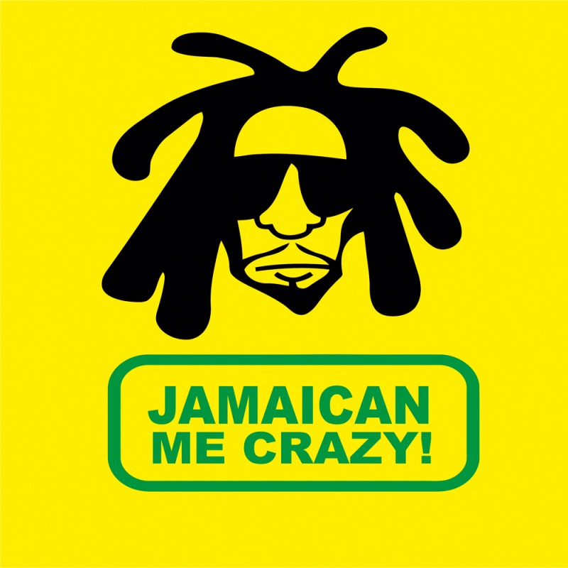 Jamaican me crazy t shirt for Crazy t shirt designs