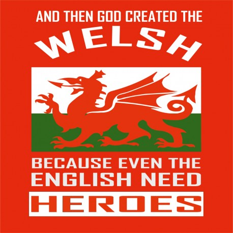 Welsh Heroes T Shirt
