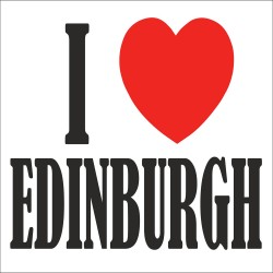 I Love EDINBURGH T Shirt