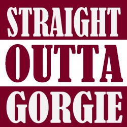 Straight Outta Gorgie T Shirt.