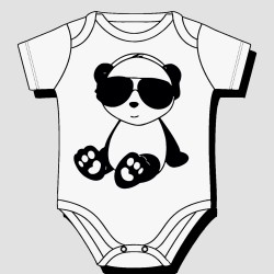 Cool Bear with Sunglasses BodySuit