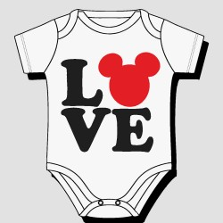 Mickey Love Body Suit