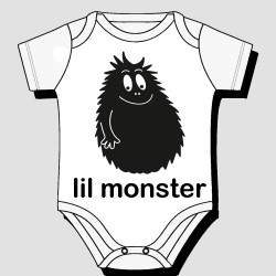 Lil Monster Kids Body Suit