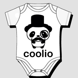 Coolio Panda Kids Body Suit