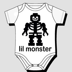 Lil Robot Monster Kids Body Suit