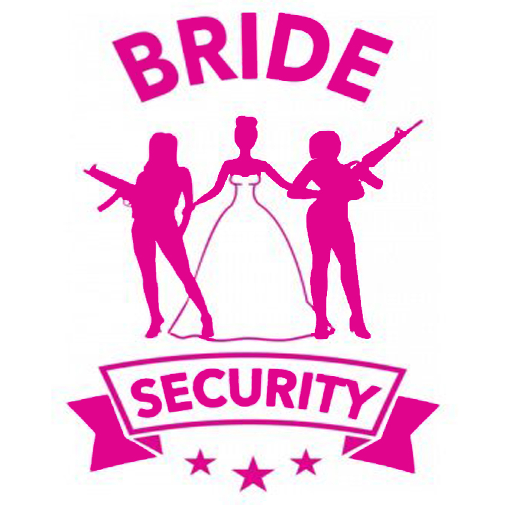 Bride Security 3 Hen Night TShirtFire.com