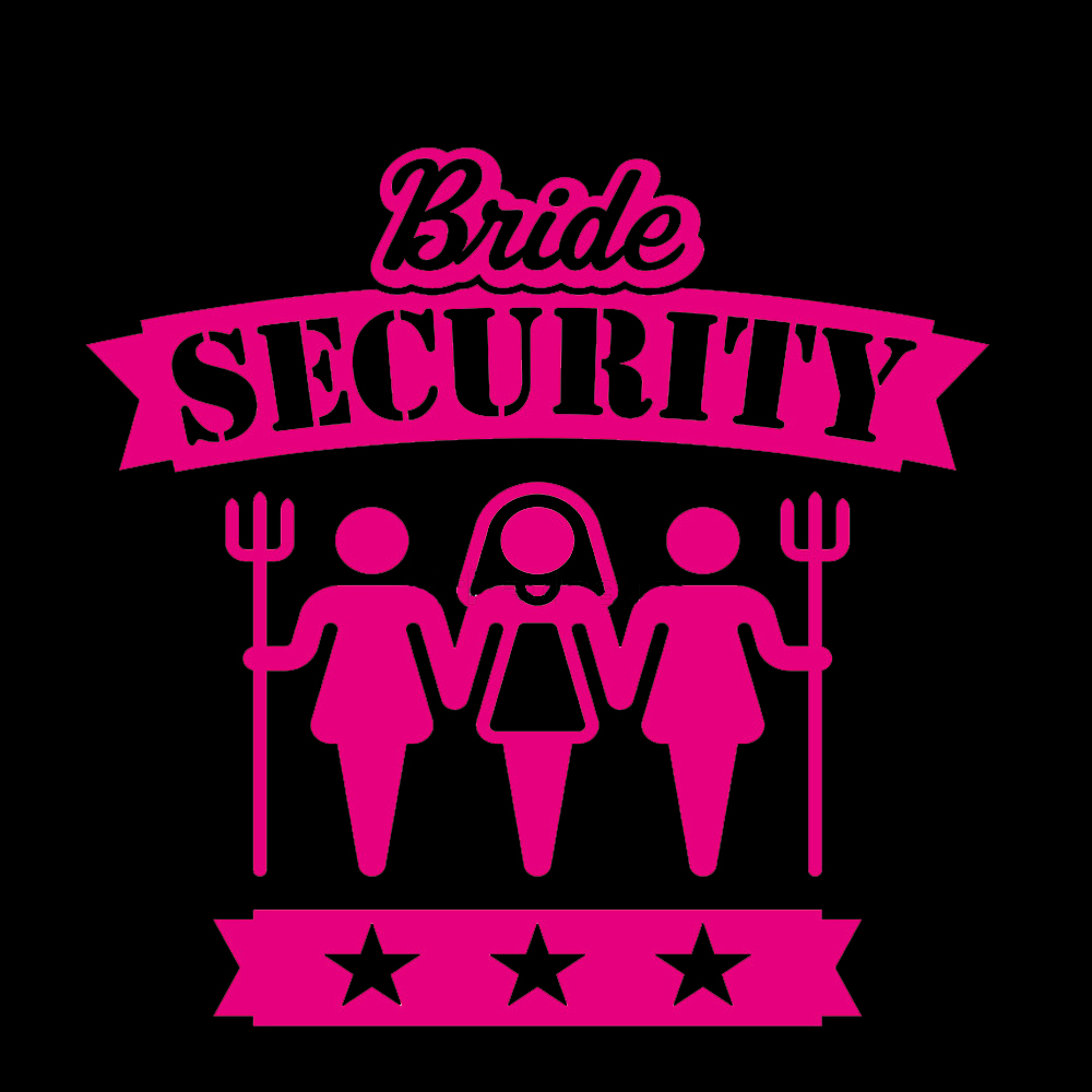 Bride Security Hen Night TShirtFire.com