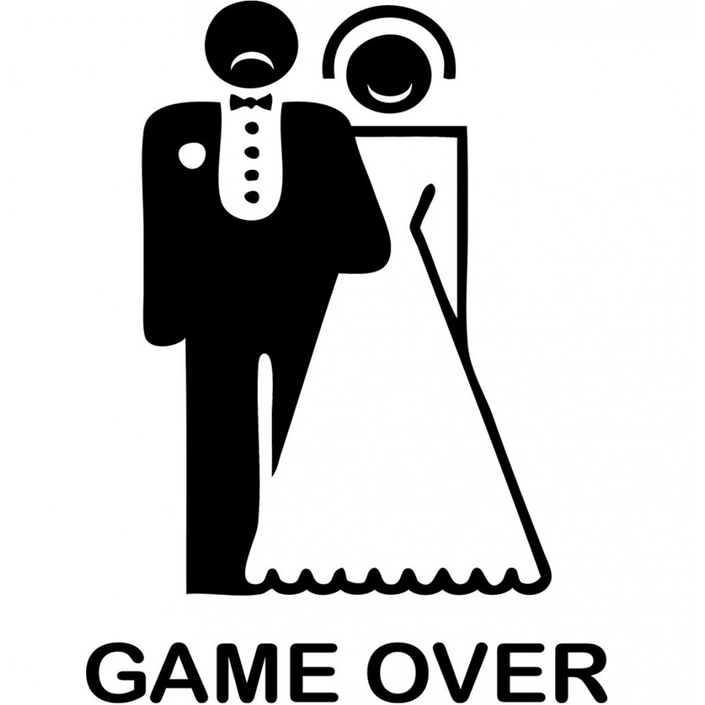Game Over Stag T Shirt from TShirtFire.com